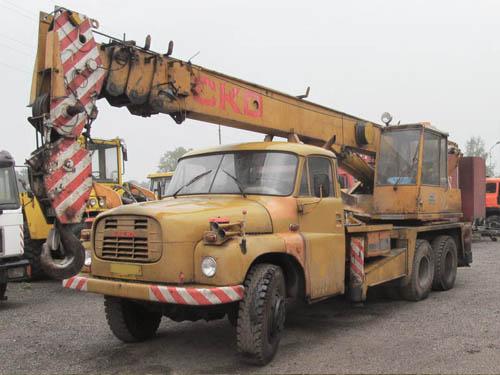 Jeřáb Tatra 148 AD20